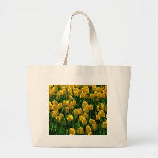 Tulipas amarelas de Holland Sacola Tote Jumbo