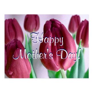 Tulipas felizes de Rosey do dia das mães