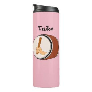 Tumbler do presente de Taiko do cilindro e do