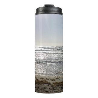 Tumbler do Thermal do nascer do sol da praia