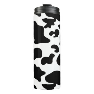 Tumbler do Thermal do teste padrão da vaca