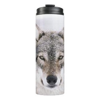 Tumbler térmico personalizado cabeça do lobo