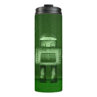 Tumbler térmico - robô do sono - verde