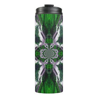 Tumbler verde do Thermal da brisa do oceano