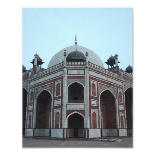 Túmulo de Humayun Deli India Impressão De Fotos