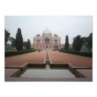 Túmulo de Humayun Deli India Impressão De Foto