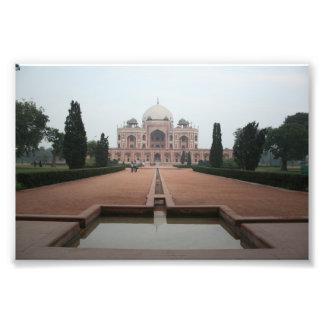 Túmulo de Humayun Deli India Foto Artes