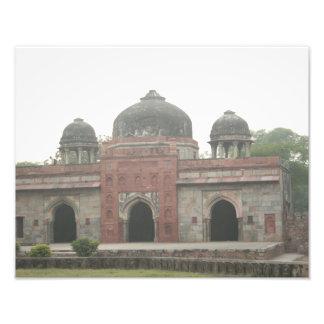 Túmulo de Humayun Deli India Foto Arte
