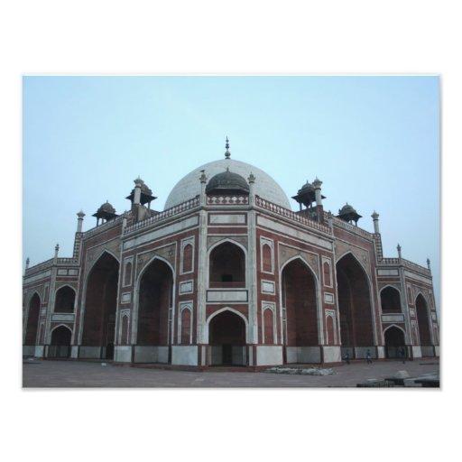 Túmulo de Humayun Deli India Impressão Fotográficas