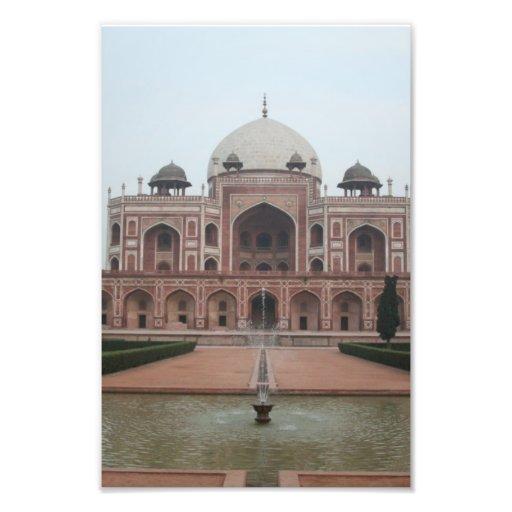 Túmulo de Humayun Deli India Fotografias