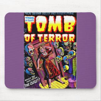 Túmulo do terror o armário Mousepad