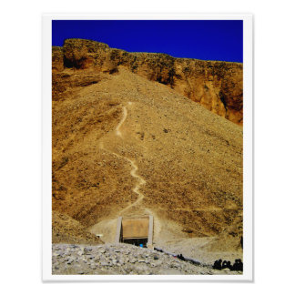 Túmulo egípcio impressão de foto