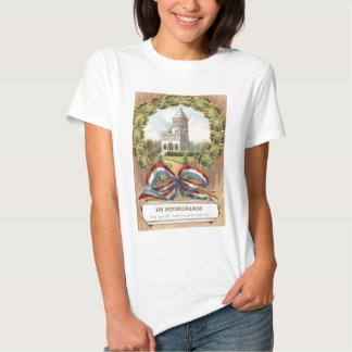Túmulo Envolver-se do presidente Garfield Camiseta