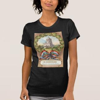 Túmulo Envolver-se do presidente Garfield T-shirts