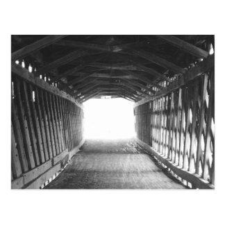 Túnel da luz cartão postal