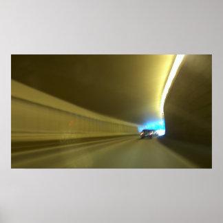 Túnel do carro poster