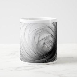 Túnel Spiral1 de B&W - caneca de café