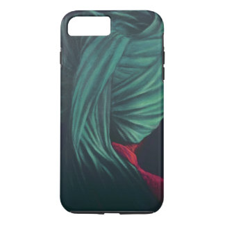 Turbante verde capa iPhone 7 plus