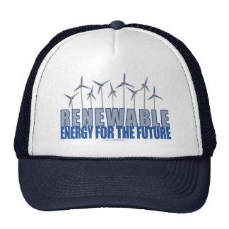 Turbinas das energias eólicas boné