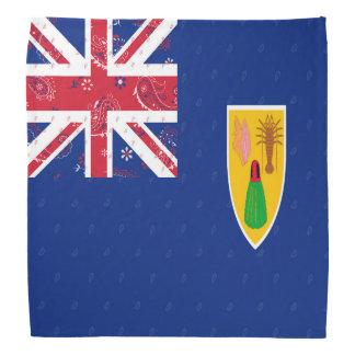 Turcos & Bandana da bandeira de Caicos