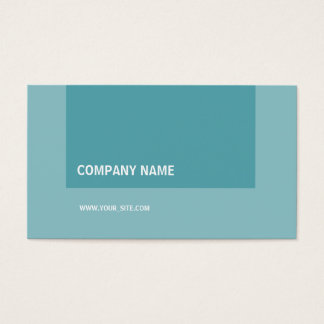 Turquesa de Moderno Elegante Empresa Cartão De Visitas