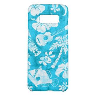 Turquesa havaiana do Batik da praia de Makapuu Capa Case-Mate Samsung Galaxy S8