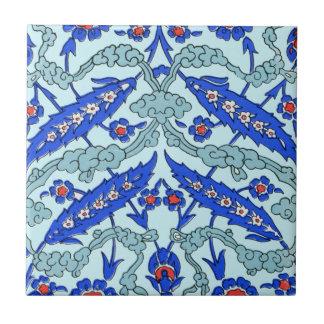 Turquesa turca da beira azulejos de cerâmica