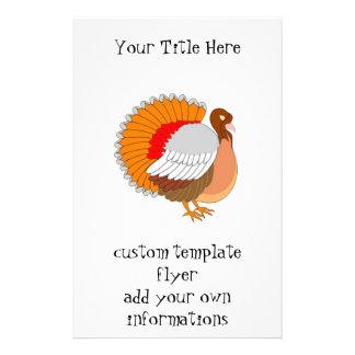 Turquia colorida panfletos coloridos