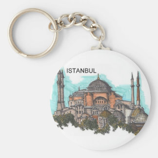 Turquia Istambul Hagia Sophia (por St.K) Chaveiro