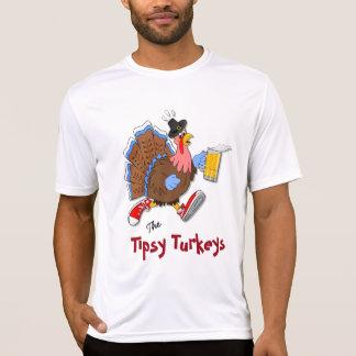 Turquia Tipsy (cerveja) - esporte Tek SS Camiseta