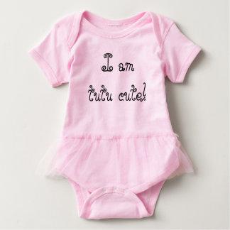 Tutu bonito! body para bebê
