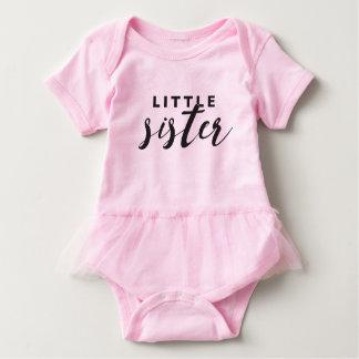 Tutu da irmã mais nova body para bebê