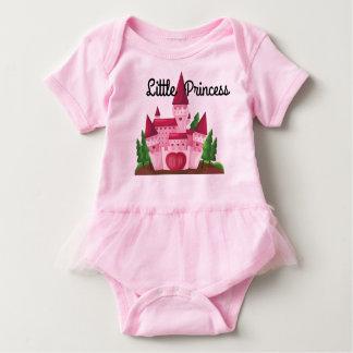 Tutu temático do babygirl da princesa body para bebê