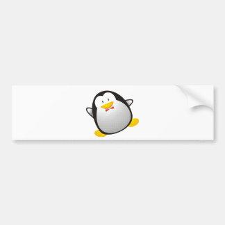 Tux da imagem do linux do pinguim adesivo