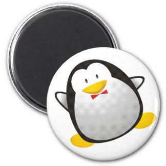 Tux da imagem do linux do pinguim ímã redondo 5.08cm