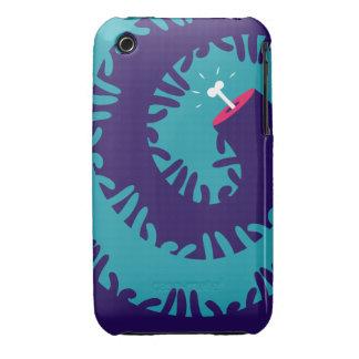 Twirl do osso capinhas para iPhone 3