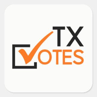 TX vota a etiqueta