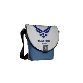 U.S. A bolsa mensageiro aposentada força aérea do