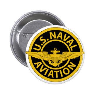 U.S. Aviação naval - 2 Bóton Redondo 5.08cm