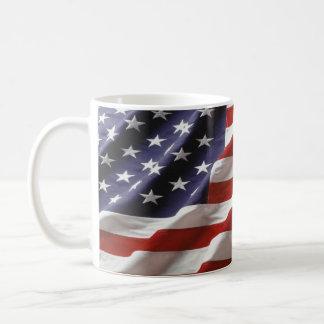 U.S. Bandeira Caneca De Café