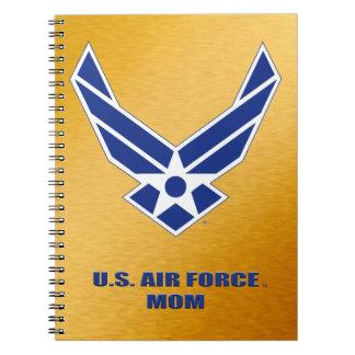 U.S. Caderno da foto da espiral da mamã da força