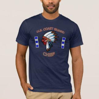 U.S. Camisa do chefe indiano da guarda costeira