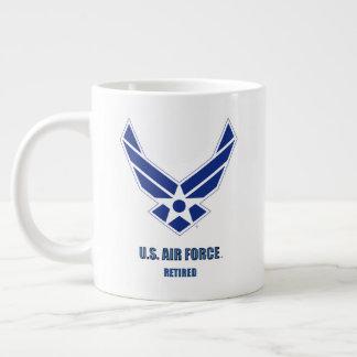 U.S. Caneca aposentada força aérea da