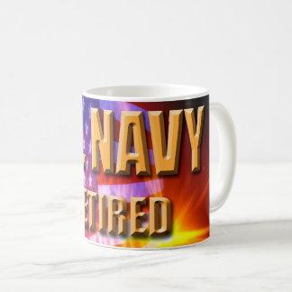 U.S. Caneca aposentada marinho