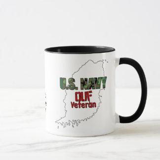 U.S. Caneca do veterano do marinho OUF
