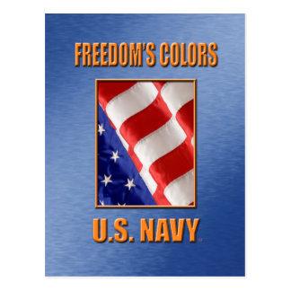 U.S. Cartão do marinho