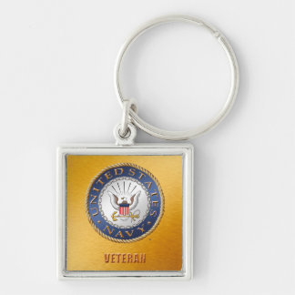 U.S. Chaveiro do veterano do marinho