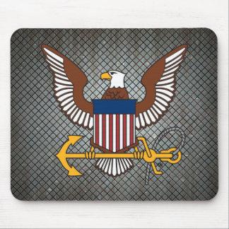 U.S. Emblema do marinho   Eagle Mousepad