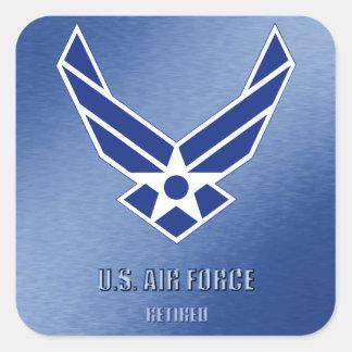 U.S. Etiqueta aposentada força aérea