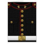 U.S. Fuzileiros navais: Uniforme de vestido do USM Cartão